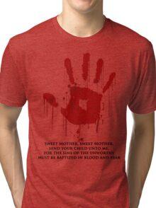 AWESOME Dark Brotherhood Black Sacrament! Tri-blend T-Shirt