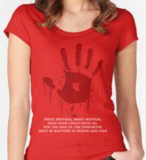 AWESOME Dark Brotherhood Black Sacrament!  Women's Fitted Scoop T-Shirt