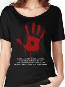 AWESOME Dark Brotherhood Black Sacrament!  Women's Relaxed Fit T-Shirt