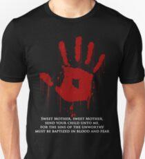 FANTASTISCHES dunkles Bruderschafts-Schwarz-Sakrament! Slim Fit T-Shirt