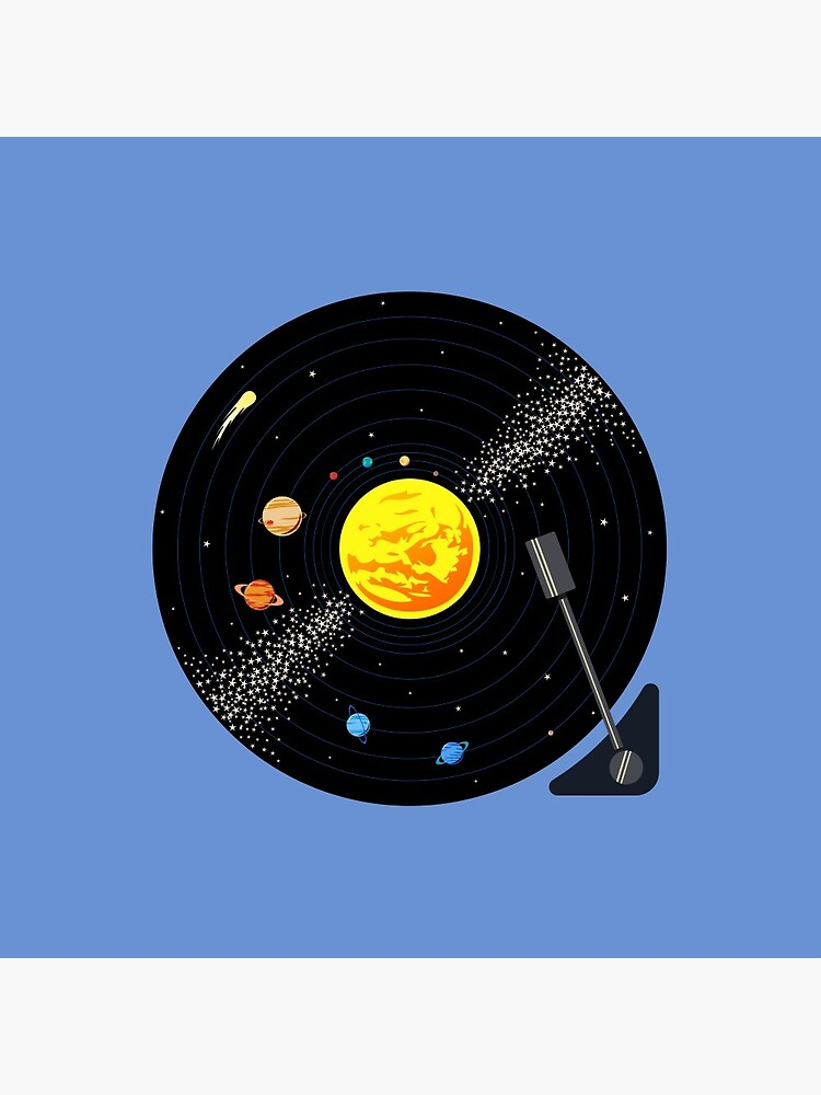 Solar System Vinyl Record by jezkemp