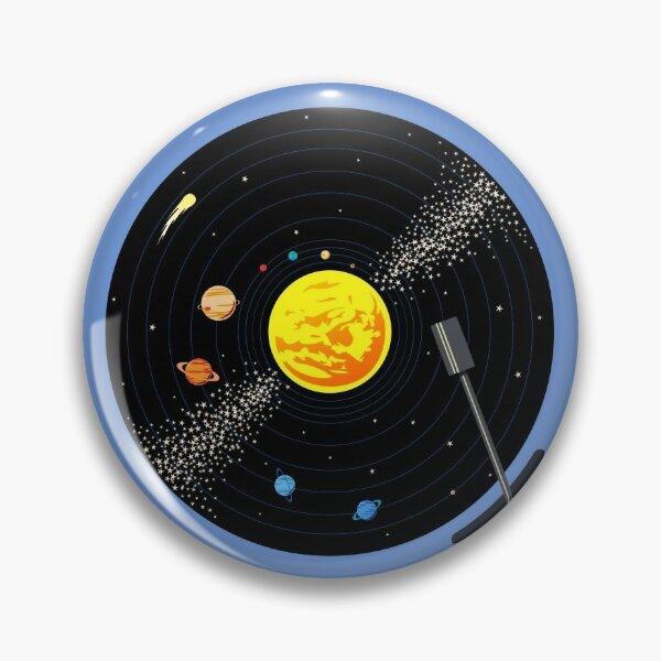 Solar System Vinyl Record Pin