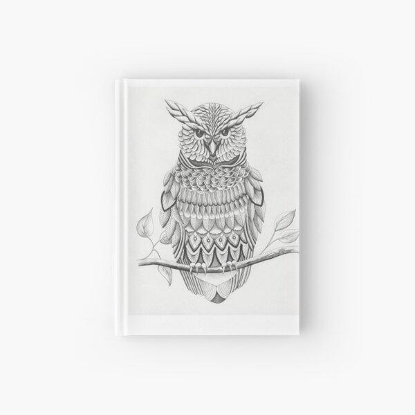 Owl (Ink) Hardcover Journal