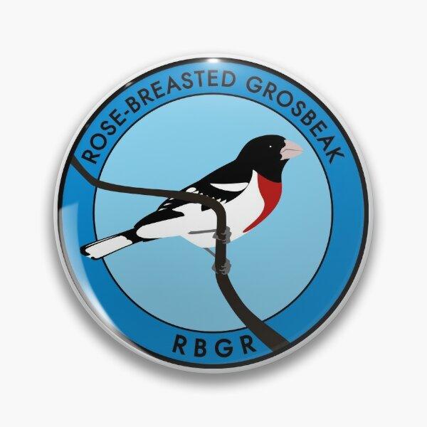 Rose-breasted Grosbeak Pin