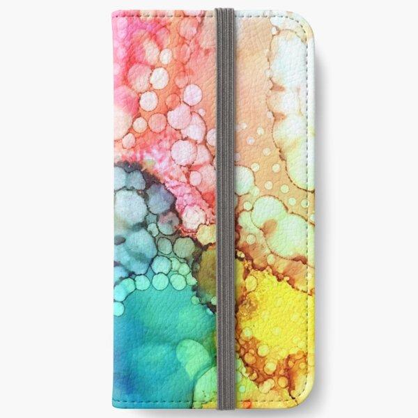 Cotton Candy Bubble iPhone Wallet