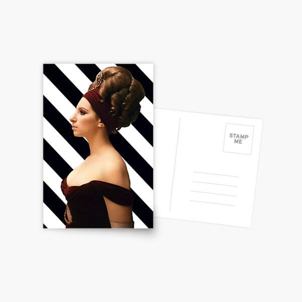 Barbra Streisand - Monochrome  Postcard