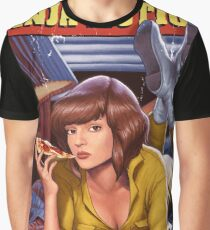 Pulp Mutant Ninja Fiction Graphic T-Shirt