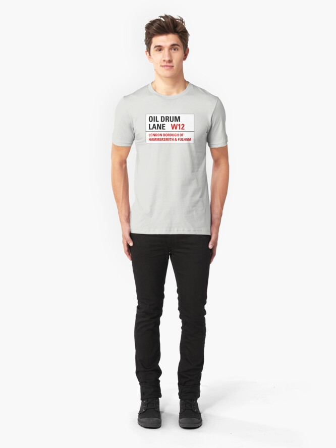 Alternate view of Oil Drum Lane - Steptoe & Son Slim Fit T-Shirt