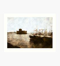 Kisimul Castle, Scotland Art Print