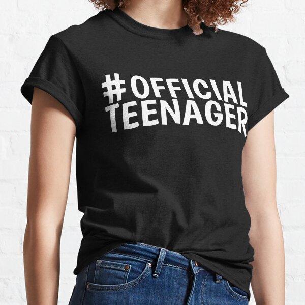 Hashtag Official Teenager Gift 13 años de edad Camiseta clásica