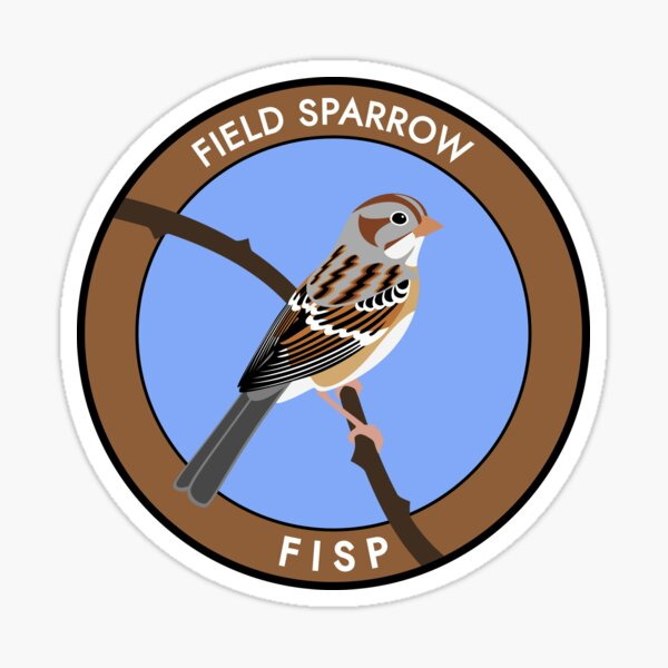 Field Sparrow Sticker