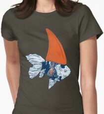 Big fish in a small pond Womens Fitted T-Shirt