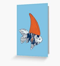 Big fish in a small pond Greeting Card