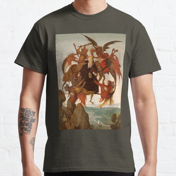 The Torment of Saint Anthony. Michelangelo. Classic T-Shirt