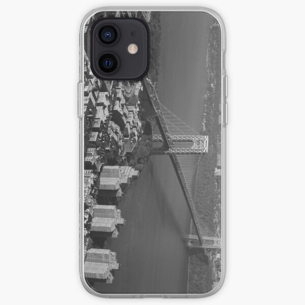 George Washington Bridge NYC Photograph iPhone Soft Case