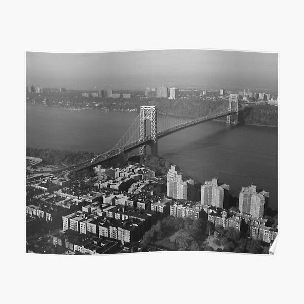 George Washington Bridge NYC Photograph Poster