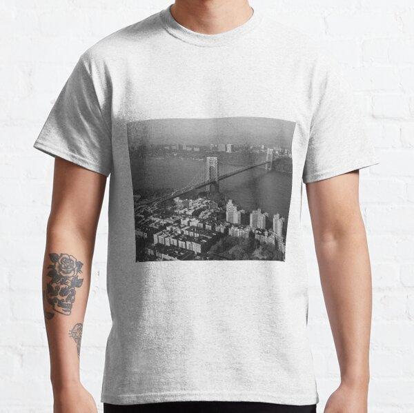 George Washington Bridge NYC Photograph Classic T-Shirt