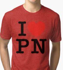I Love Panem (for light tee's) Tri-blend T-Shirt