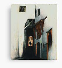 Man In The Shadows Canvas Print