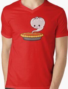 Sad Pumpkin | Cute Pumpkin Ghost  Mens V-Neck T-Shirt