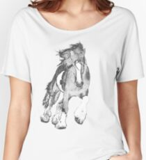 Thundering Hooves T Women's Relaxed Fit T-Shirt