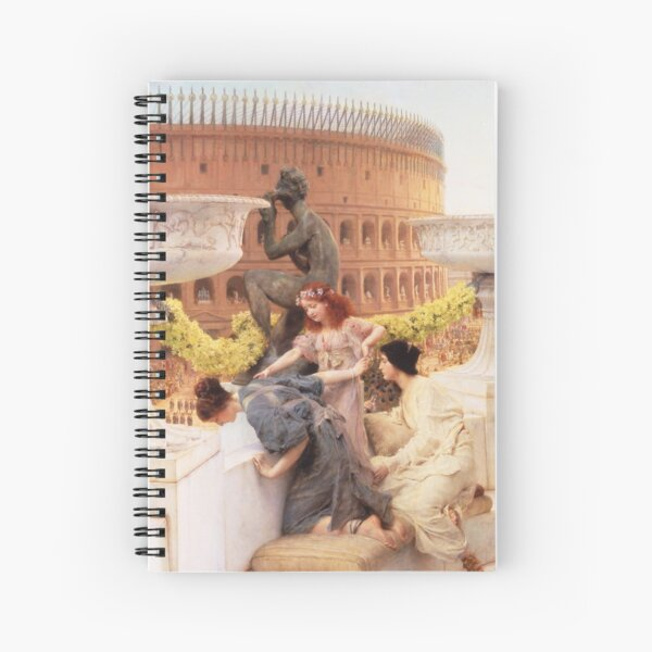 Sir Lawrence Alma-Tadema - The Coliseum Spiral Notebook