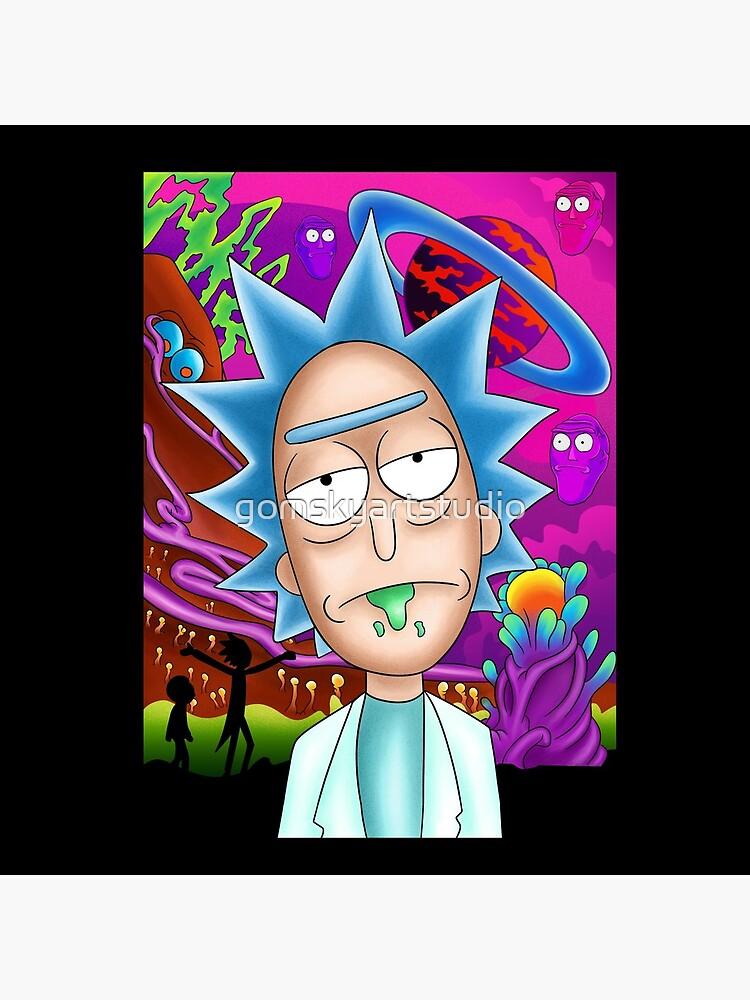 Rick and Morty by gomskyartstudio