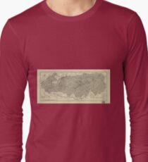 The Great Smoky Mountains National Park Map (1935) T-Shirt