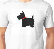 Scottish Terrier Dog Silhouette Unisex T-Shirt