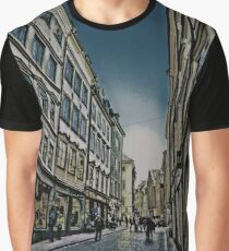 Gamla Stan, Stockholm, by Tim Constable Graphic T-Shirt
