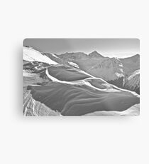 Kasprowy Wierch  or Kasprov vrch (in Slovak) is a mountain in the Western Tatras. Poland . by Brown Sugar . Merry Christmas and Happy New Year 2013 ! Metal Print
