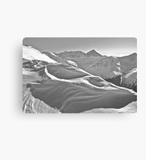 Kasprowy Wierch  or Kasprov vrch (in Slovak) is a mountain in the Western Tatras. Poland . by Brown Sugar . Merry Christmas and Happy New Year 2013 ! Canvas Print