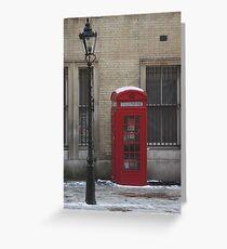 London phone box Greeting Card
