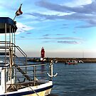 Little red lighthouse by Jasna