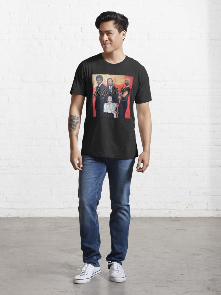Alternate view of Pulp Fiction Essential T-Shirt