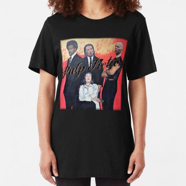 Pulp Fiction Slim Fit T-Shirt