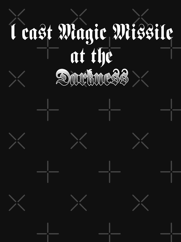 Magic Missile by djtenebrae