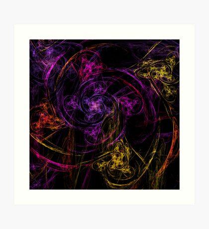 Swirly twirly Art Print