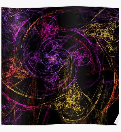 Swirly twirly Poster