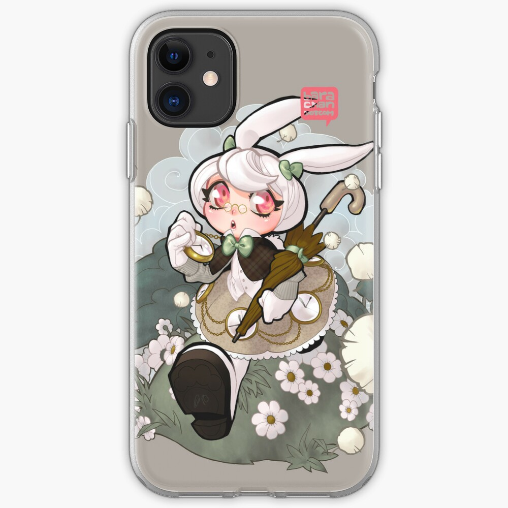 white rabbit iPhone Case & Cover