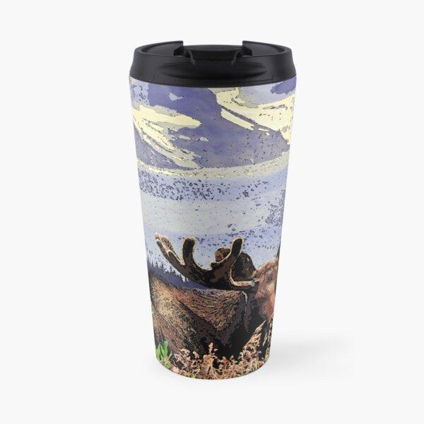 Glacier Moose Travel Mug