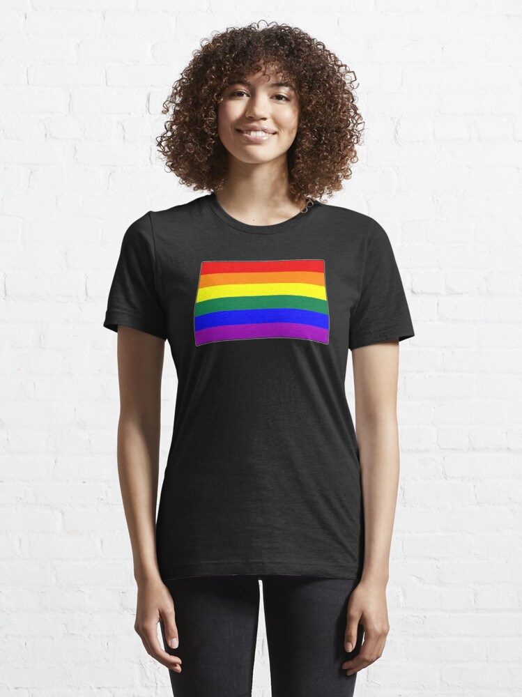 Alternate view of LGBTQ Pride Flag Essential T-Shirt
