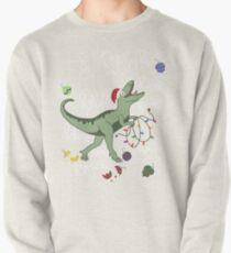 T-Rex Christmas Dinosaur - Dinosaur Christmas Pullover