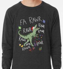 T-Rex Weihnachtsdinosaurier - Dinosaurier-Weihnachten Leichter Pullover