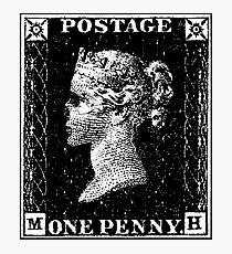 Penny Black Death Photographic Print