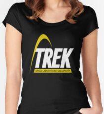 Trek Space Adventure Company Women's Fitted Scoop T-Shirt