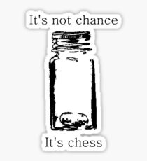 It's Not Cance, It's Chess Sticker