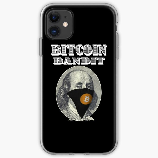 Bitcoin Bandit iPhone Soft Case