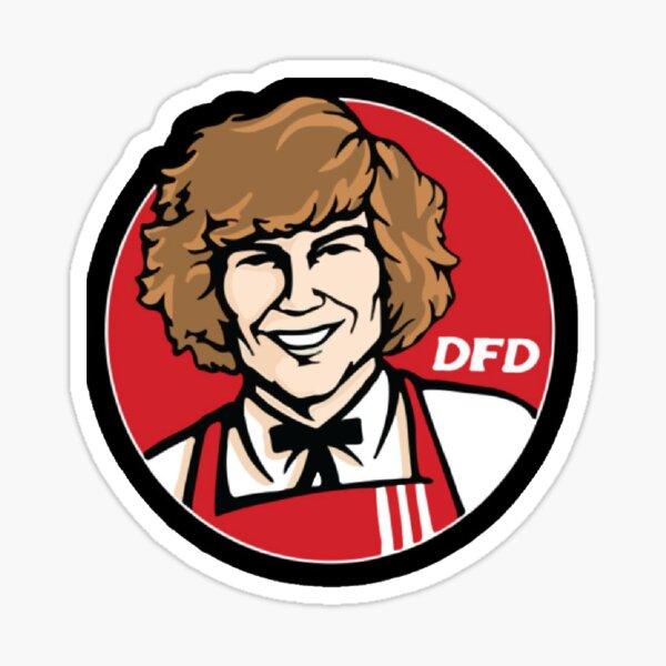 Danny Duncan KFC Sticker