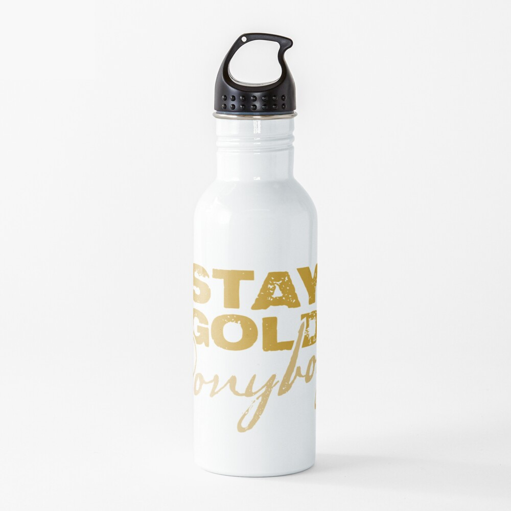 Stay Gold Ponyboy Water Bottle